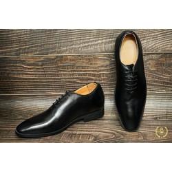 Giày tây nam Oxford tăng chiều cao 6cm