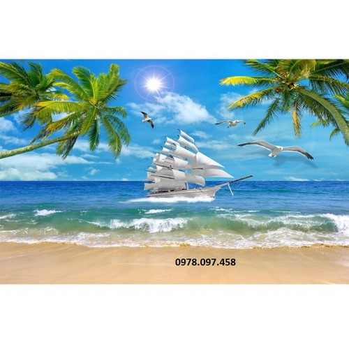 tranh gạch men 3d thuyền và biển - 11197040 , 20292380 , 15_20292380 , 3200000 , tranh-gach-men-3d-thuyen-va-bien-15_20292380 , sendo.vn , tranh gạch men 3d thuyền và biển