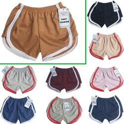 Combo 10 quần đùi bé gái MiMyKid