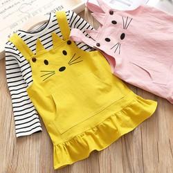 SIÊU SALE- Váy yếm cao cấp cho bé, cả áo và yêm, hàng đẹp