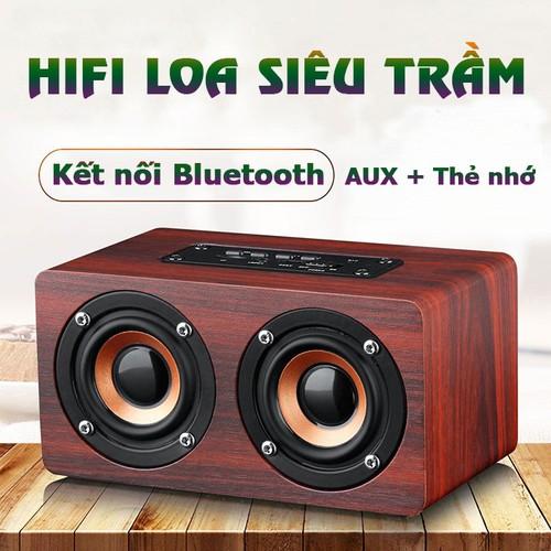 Loa gỗ loa bluetooth hỗ trợ đọc thẻ nhớ âm thanh nổi hifi siêu trầm w5 - 12514752 , 20317739 , 15_20317739 , 199000 , Loa-go-loa-bluetooth-ho-tro-doc-the-nho-am-thanh-noi-hifi-sieu-tram-w5-15_20317739 , sendo.vn , Loa gỗ loa bluetooth hỗ trợ đọc thẻ nhớ âm thanh nổi hifi siêu trầm w5