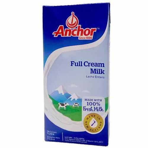 Sữa tươi anchor 1 lít thùng 12 hộp new zealand
