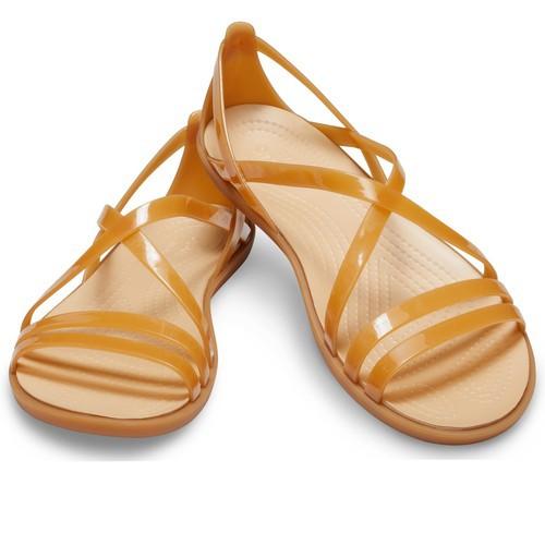Sandal crocs. sandal crocs.sandal crocs. isabella strappy màu nâu đồng - mẫu mới nhất 2019
