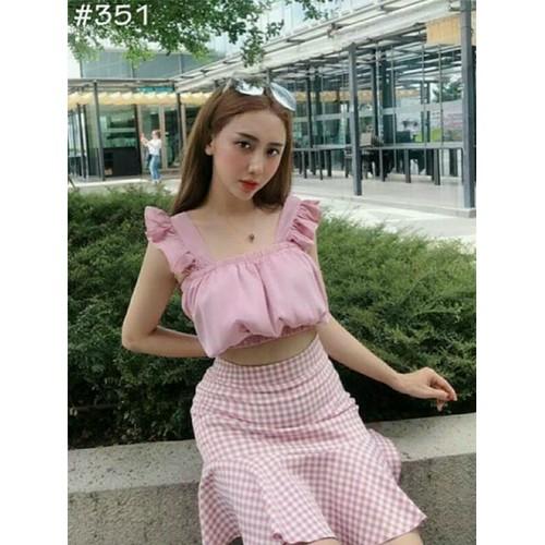 Set áo váy cát hồng xinh - 12513801 , 20316220 , 15_20316220 , 105000 , Set-ao-vay-cat-hong-xinh-15_20316220 , sendo.vn , Set áo váy cát hồng xinh