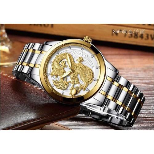 Đồng hồ nam đồng hồ nam mặt rồng