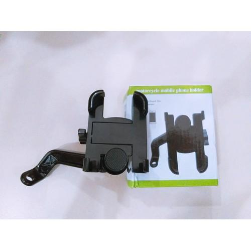 Kẹp điện thoại trên xe máy c2 nhôm cao cấp gắn chân gương - 11359702 , 20308534 , 15_20308534 , 159000 , Kep-dien-thoai-tren-xe-may-c2-nhom-cao-cap-gan-chan-guong-15_20308534 , sendo.vn , Kẹp điện thoại trên xe máy c2 nhôm cao cấp gắn chân gương