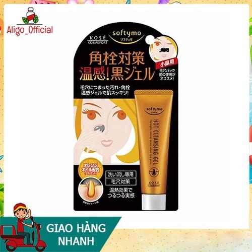 Kem lột mụn Kose hot cleansing gel softymo 25g Nhật giúp da loại bỏ những chất cặn bã, dầu nhờn mụn cám và mụn đầu đen Chưa Có Đánh Giá - 11598233 , 20317128 , 15_20317128 , 200000 , Kem-lot-mun-Kose-hot-cleansing-gel-softymo-25g-Nhat-giup-da-loai-bo-nhung-chat-can-ba-dau-nhon-mun-cam-va-mun-dau-den-Chua-Co-Danh-Gia-15_20317128 , sendo.vn , Kem lột mụn Kose hot cleansing gel softymo 25
