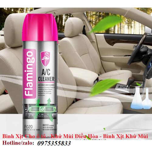 Bình xịt cho ô tô - khử mùi điều hòa - bình xịt khử mùi