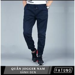 RẺ VÔ ĐỊCH Quần Jogger nam vải kaki dày đẹp màu xanh đen