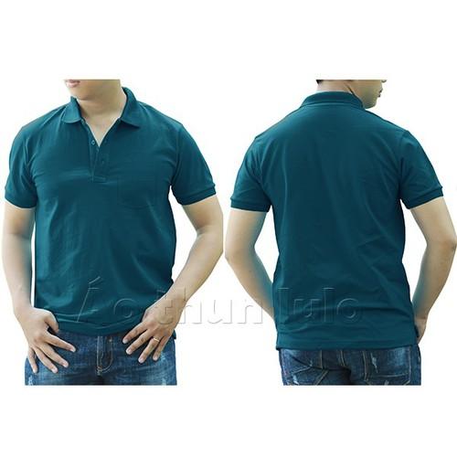 Áo thun cổ trụ có túi - màu xanh cổ vịt - 12508365 , 20308654 , 15_20308654 , 159000 , Ao-thun-co-tru-co-tui-mau-xanh-co-vit-15_20308654 , sendo.vn , Áo thun cổ trụ có túi - màu xanh cổ vịt