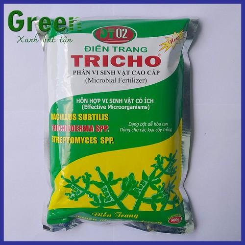 Nấm đối kháng trichoderma điền trang - 500 gram