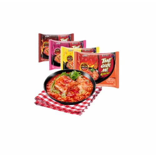 1 thùng 30 gói thế giới mì koreno vị bò chua cay