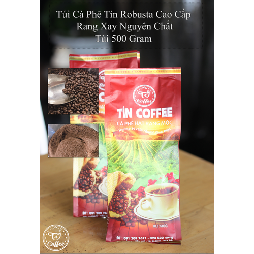 Cà phê tín robusta cao cấp - rang xay nguyên chất - túi 500gram - gu phổ thông - 12520819 , 20327922 , 15_20327922 , 60000 , Ca-phe-tin-robusta-cao-cap-rang-xay-nguyen-chat-tui-500gram-gu-pho-thong-15_20327922 , sendo.vn , Cà phê tín robusta cao cấp - rang xay nguyên chất - túi 500gram - gu phổ thông