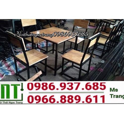 Bộ bàn ghế khung sắt mặt gỗ giá rẻ - 12132103 , 20313882 , 15_20313882 , 1480000 , Bo-ban-ghe-khung-sat-mat-go-gia-re-15_20313882 , sendo.vn , Bộ bàn ghế khung sắt mặt gỗ giá rẻ