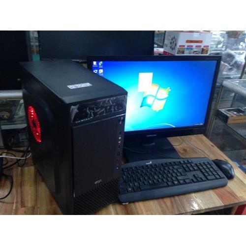 Máy bộ chơi game i5 4570s 8g 250g gtx750ti lcd 20 inch