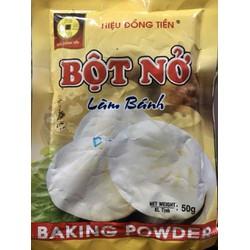 Thanh Hoá - Combo 2 gói Bột nở - men nở làm bánh hiệu ĐỒNG TIỀN 50g