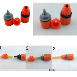 Bộ đầu nối máy rửa xe mini 12v - bộ 2 đầu nối nhanh máy rửa xe mini 12v
