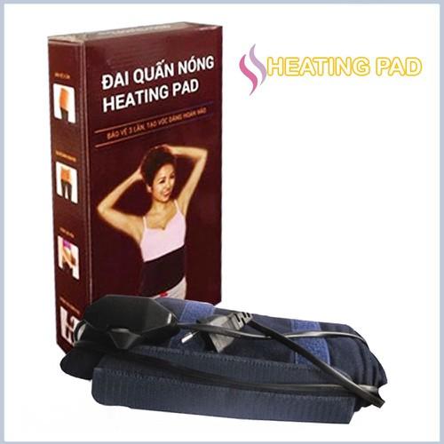 Đai quấn nóng nịt bụng sinh nhiệt chạy điện cực hiệu quả