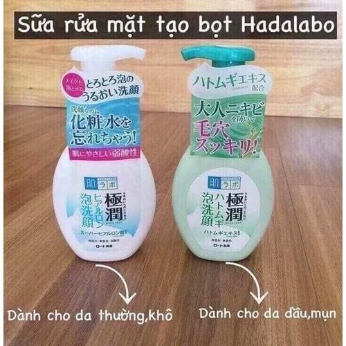 Sữa rửa mặt HADALABO tạo bọt - 11598134 , 20317014 , 15_20317014 , 250000 , Sua-rua-mat-HADALABO-tao-bot-15_20317014 , sendo.vn , Sữa rửa mặt HADALABO tạo bọt