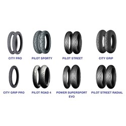 Vỏ Michelin Pilot Street 110-70-17 TL TT  cho EX, RIDER, SATRIA