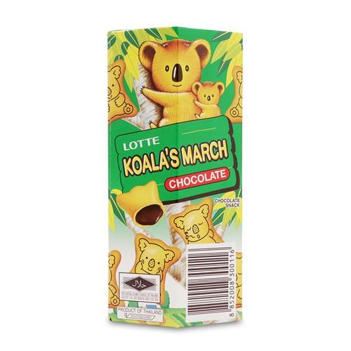 Bánh Lotte Xanh Koala S March Chocolate
