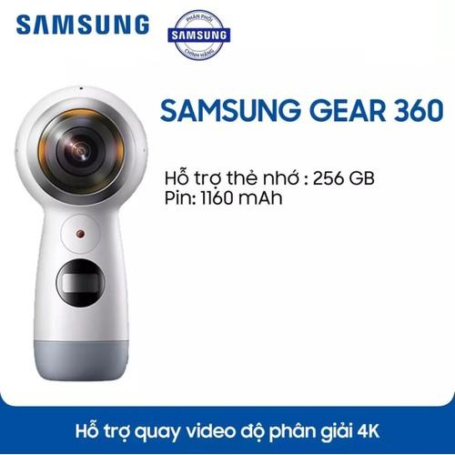 Camera samsung gear 360 model 2017  hãng chính hãng - 12528249 , 20338717 , 15_20338717 , 3450000 , Camera-samsung-gear-360-model-2017-hang-chinh-hang-15_20338717 , sendo.vn , Camera samsung gear 360 model 2017  hãng chính hãng