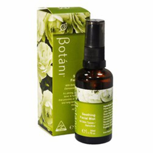 Tinh chất xịt dưỡng ẩm và làm mềm da botani 50ml
