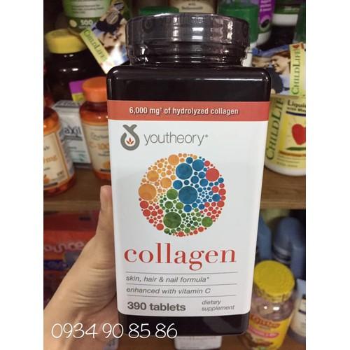 Collagen youtheory 390 viên mỹ