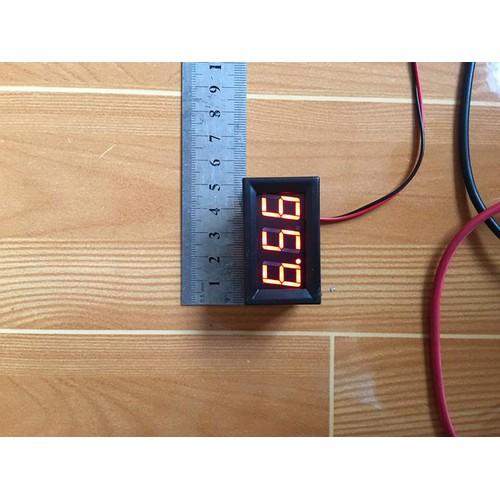 Vôn kế led 0.56 inch đồng hồ đo điện áp hiệu điện thế dc màu đỏ 4.5 - 30vdc và 5 - 120vdc - 17362699 , 20326194 , 15_20326194 , 30000 , Von-ke-led-0.56-inch-dong-ho-do-dien-ap-hieu-dien-the-dc-mau-do-4.5-30vdc-va-5-120vdc-15_20326194 , sendo.vn , Vôn kế led 0.56 inch đồng hồ đo điện áp hiệu điện thế dc màu đỏ 4.5 - 30vdc và 5 - 120vdc