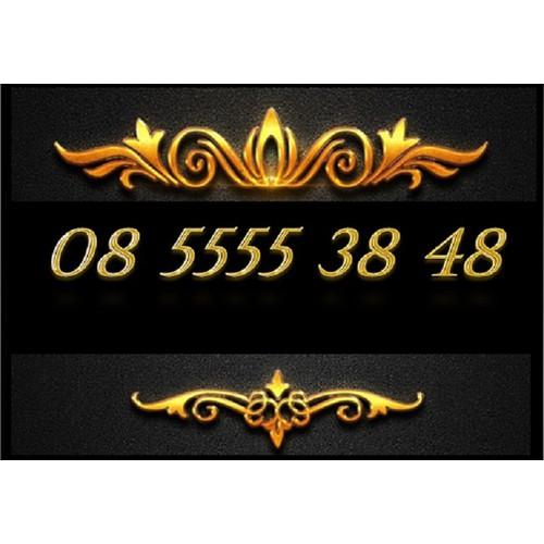 SIM  VINAPHONE ĐẸP 08 5555 38 48