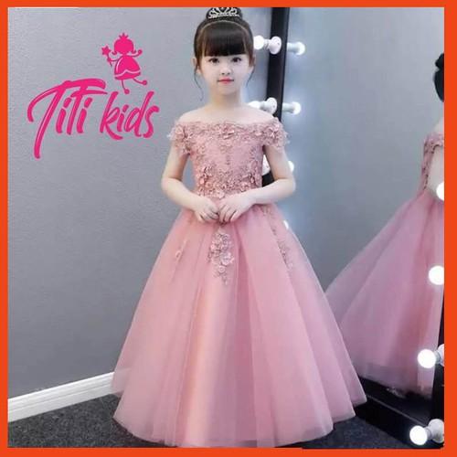 Đầm hồng hoa đào dài xòe phồng cực xinh – váy đầm công chúa bé gái thiết kế cao cấp - 12527779 , 20338157 , 15_20338157 , 550000 , Dam-hong-hoa-dao-dai-xoe-phong-cuc-xinh-vay-dam-cong-chua-be-gai-thiet-ke-cao-cap-15_20338157 , sendo.vn , Đầm hồng hoa đào dài xòe phồng cực xinh – váy đầm công chúa bé gái thiết kế cao cấp
