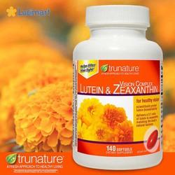 Viên uống bổ mắt từ USA Trunature Vision Complex Lutein & Zeaxanthin, 140 viên
