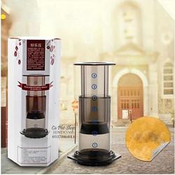 Bộ pha cà phê piston phong cách Mỹ Aero Press 240ml