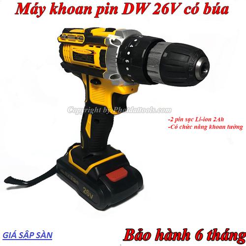 Máy khoan pin dw 26v có búa - 12530582 , 20341481 , 15_20341481 , 785000 , May-khoan-pin-dw-26v-co-bua-15_20341481 , sendo.vn , Máy khoan pin dw 26v có búa