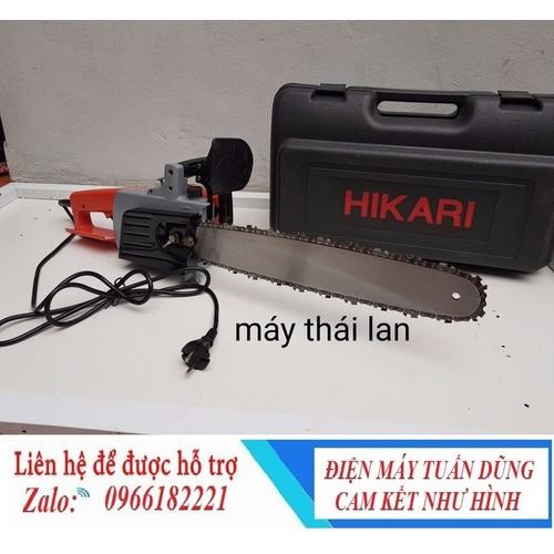 Máy cưa - máy cưa xích chạy điện hikari thái lan chính hãng - 12522761 , 20330725 , 15_20330725 , 1500000 , May-cua-may-cua-xich-chay-dien-hikari-thai-lan-chinh-hang-15_20330725 , sendo.vn , Máy cưa - máy cưa xích chạy điện hikari thái lan chính hãng