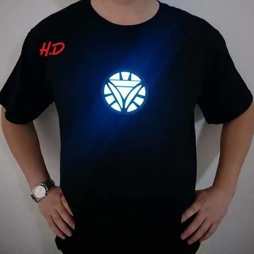 Áo phông thun vòng tròn tam giác ngược phản quang hd32