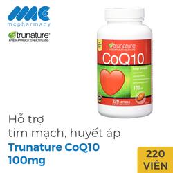 CoQ10 - Trunature CoQ10 hỗ trợ tim mạch