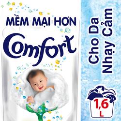 Túi Nước Xả Comfort Đậm Đặc Cho Da Nhạy Cảm 1.6L