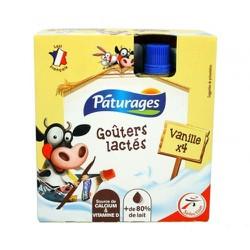 Váng sữa Páturages vị vani dạng túi 340g date T10.2021