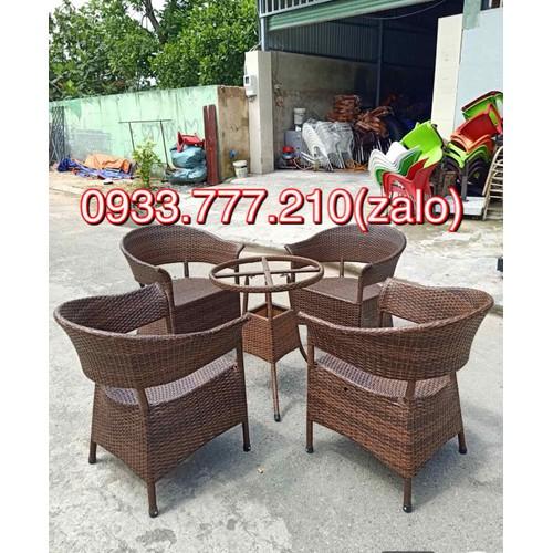 Bàn ghế nhựa giả mây - 12461816 , 20334159 , 15_20334159 , 2800000 , Ban-ghe-nhua-gia-may-15_20334159 , sendo.vn , Bàn ghế nhựa giả mây