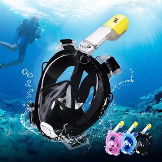 Dụng cụ bơi lặn - Mặt Nạ Lặn full Face Gắn Được Camera Hành Trình - Mặt Nạ Lặn thumbnail