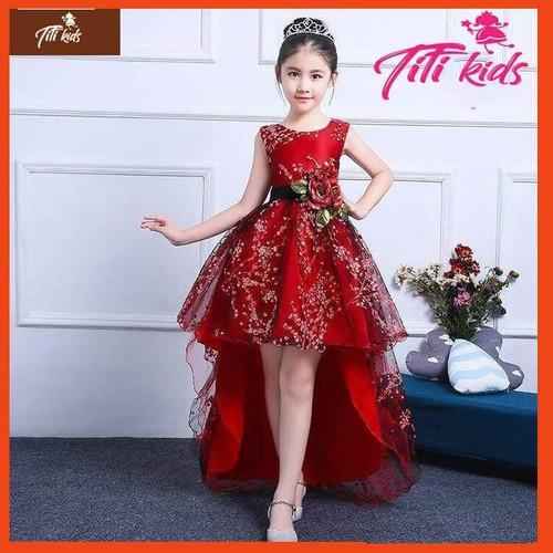 Đầm đỏ hoa đào đuôi cá dài xinh xắn – váy đầm công chúa bé gái thiết kế cao cấp - 12527763 , 20338139 , 15_20338139 , 385000 , Dam-do-hoa-dao-duoi-ca-dai-xinh-xan-vay-dam-cong-chua-be-gai-thiet-ke-cao-cap-15_20338139 , sendo.vn , Đầm đỏ hoa đào đuôi cá dài xinh xắn – váy đầm công chúa bé gái thiết kế cao cấp