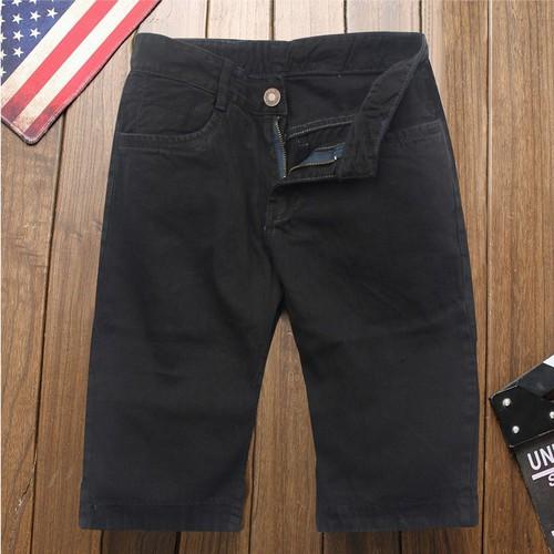 Quần short jeans nam đen q169 muidoi