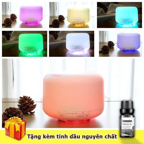 Máy phun sương khuếch tán tinh dầu máy tạo ẩm tích hợp đèn ngủ đổi màu tặng kèm 1 lọ tinh dầu - 12521251 , 20328648 , 15_20328648 , 225000 , May-phun-suong-khuech-tan-tinh-dau-may-tao-am-tich-hop-den-ngu-doi-mau-tang-kem-1-lo-tinh-dau-15_20328648 , sendo.vn , Máy phun sương khuếch tán tinh dầu máy tạo ẩm tích hợp đèn ngủ đổi màu tặng kèm 1 lọ t