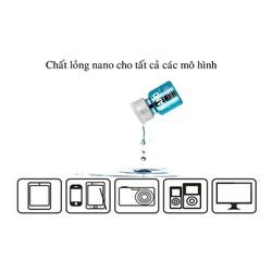 Nước phủ nano màn hình điện thoại đa năng chống nước, chống bám bụi