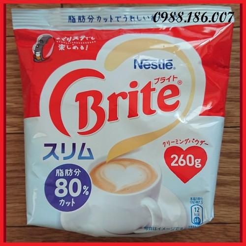 [Nội địa nhật bản] bột kem tách béo pha cà phê nestle brite 260g - 12529557 , 20340243 , 15_20340243 , 90000 , Noi-dia-nhat-ban-bot-kem-tach-beo-pha-ca-phe-nestle-brite-260g-15_20340243 , sendo.vn , [Nội địa nhật bản] bột kem tách béo pha cà phê nestle brite 260g