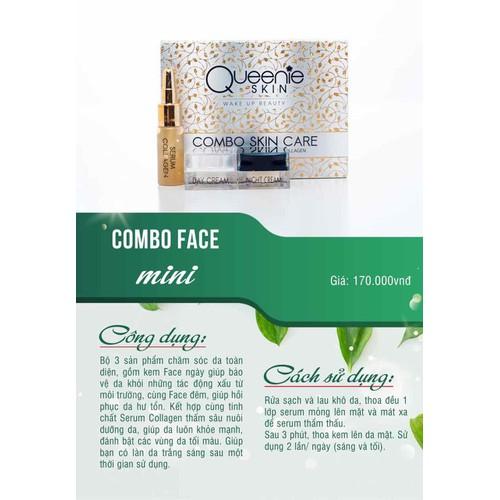 Combo face mini queeine skin - 12519856 , 20326193 , 15_20326193 , 170000 , Combo-face-mini-queeine-skin-15_20326193 , sendo.vn , Combo face mini queeine skin