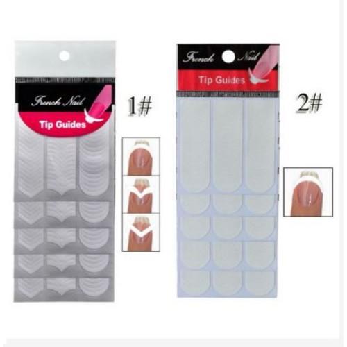 Bộ dán hỗ trợ vẽ móng french nail sticker - 12025222 , 19635375 , 15_19635375 , 10000 , Bo-dan-ho-tro-ve-mong-french-nail-sticker-15_19635375 , sendo.vn , Bộ dán hỗ trợ vẽ móng french nail sticker