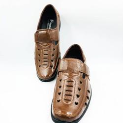 Giày lười nam, giày rọ nam da bò thật bảo hành da 1 năm
