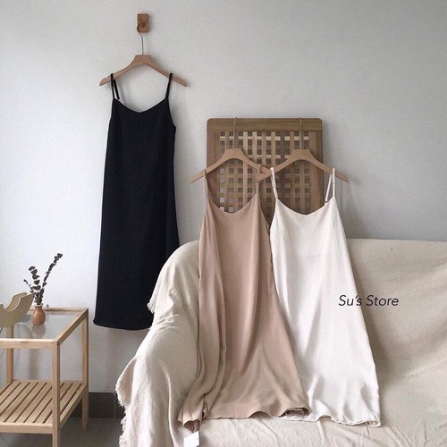 Váy 2 dây basic